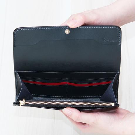 ブラック・ネイビー《長財布:アウロラ》
