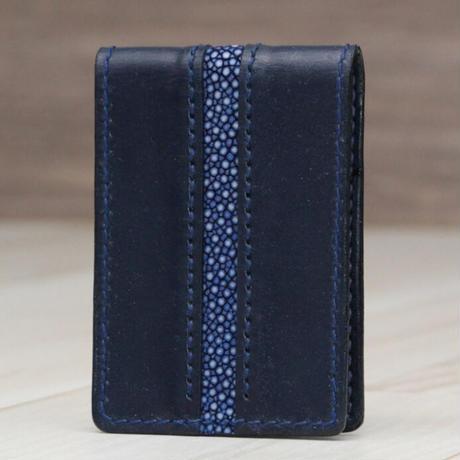 マリンブルー《カードケース》※一点物