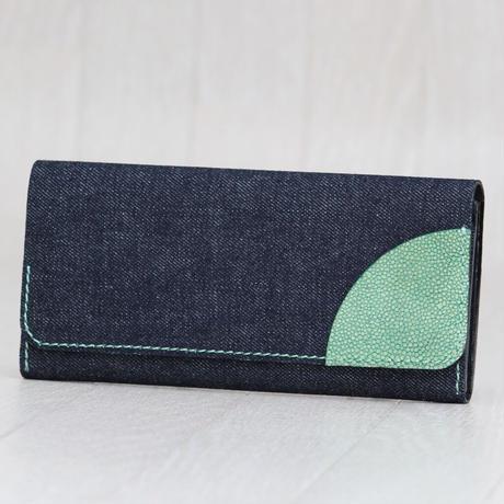 デニムコラボ長財布 ※一点物