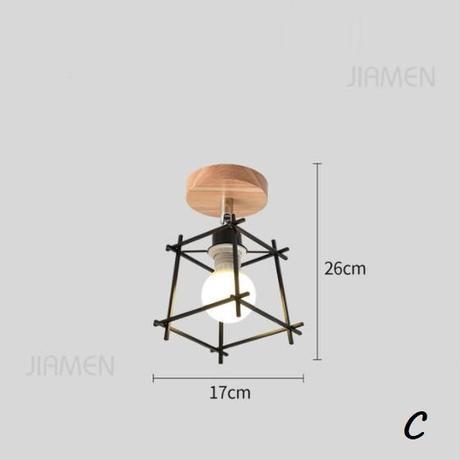 現代天井ランプ led ライト北欧マカロンカラフルなランプシェードリビングルームのベッドルーム天井器具