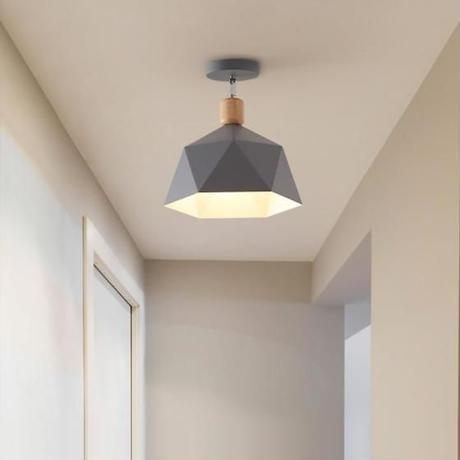 北欧 天井照明器具 現代の Led 照明器具 サスペンションランプ木製 廊下 キッチン リビングルームのインテリア