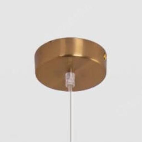 ボール ペンダントライト Led ランプ 鉄 ダイニングルーム キッチン 照明器具 サスペンション照明器具_1つタイプ