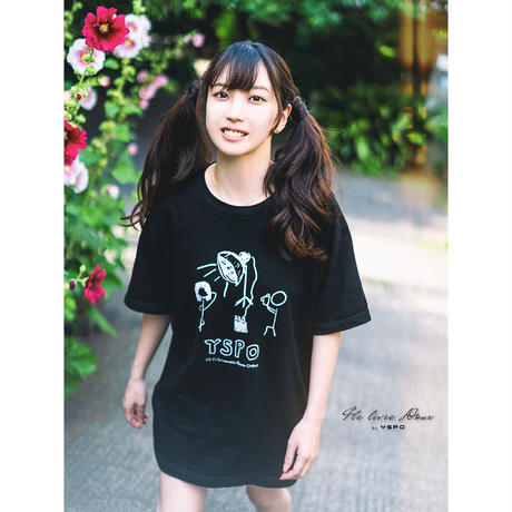 YSPO-Tシャツ Shoot_Black