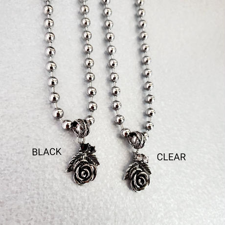 Rose Ballchain Necklace