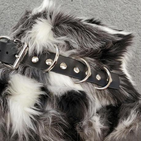 【ARTRICK×ニュリカデリック】Fur D.Belt Hat (blk/wht)