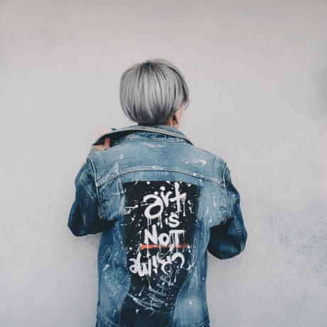 Paint Denim Jacket