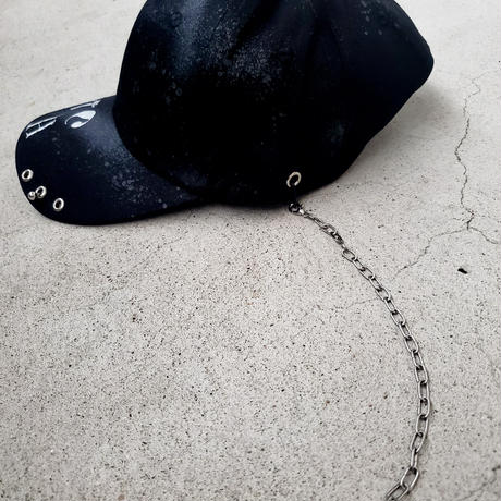 Punk Cap -BLACK-