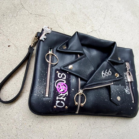 Punk Paint ClutchBag (A)