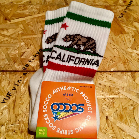 SOCCO SOCKS  California  bear
