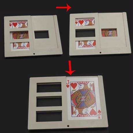 ジグザグカード・フレーム【Y1025】Picture Frame cut and restore card by Made in China