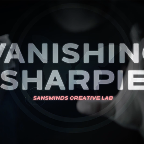 バニシング・シャーピー【M60919】Vanishing Sharpie (DVD and Gimmicks) by SansMinds Creative Lab