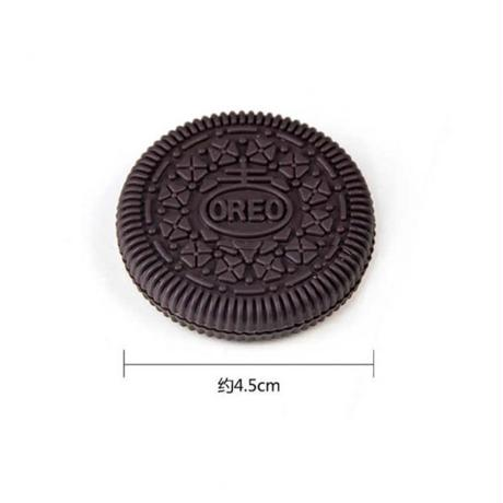 一口食べたのに、瞬間に復活するクッキー