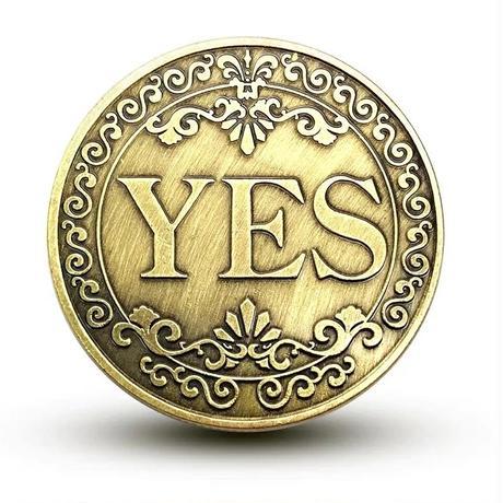 イエス・ノー・コイン【M0027】Yes/No Coin