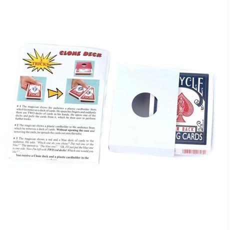 クローンデック(廉価版)【G1407】Clone Deck by KING MAGIC