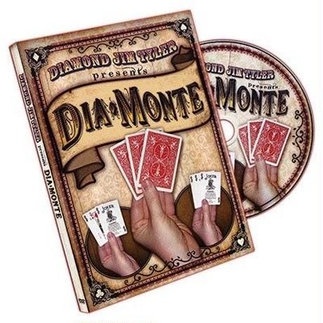 ダイアモンテ【F0043】DiaMonte (DVD and Cards) by Diamond Jim Tyler