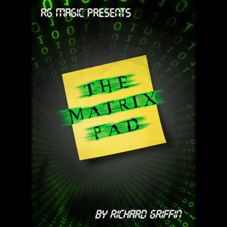 マトリックス・パッド【M58705】The Matrix Pad (DVD & Gimmicks) by Richard Griffin