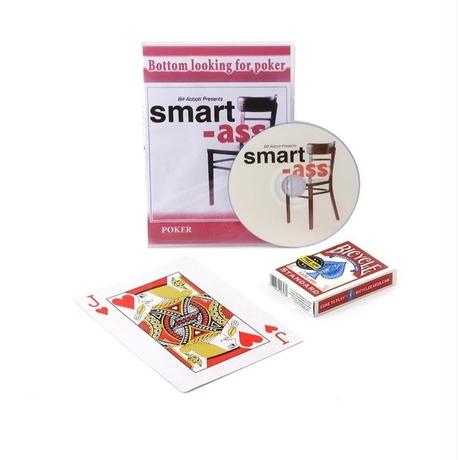 スマートアス【Y1026】Smart Ass By Liu Qian (DVD+Deck )