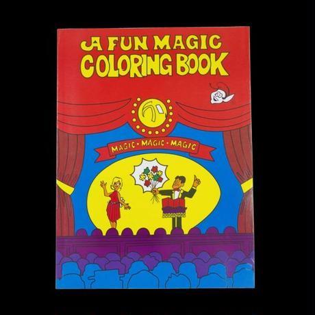 カラーリング・マジックブック【D4001】Magic Coloring Book