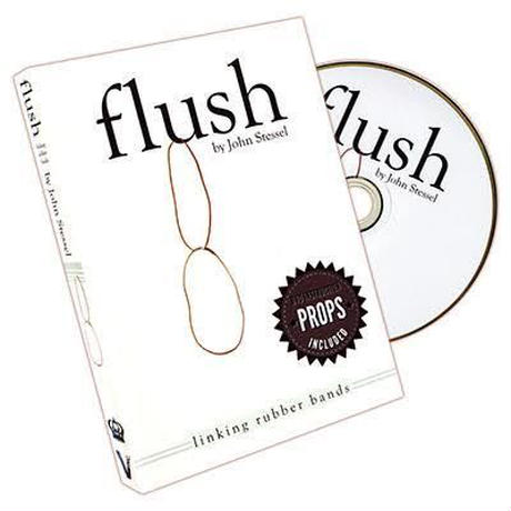 フラッシュ【X0021】Flush (DVD and Gimmick) by John Stessel