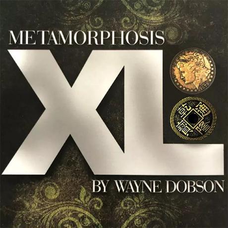 コインが瞬間で入れ替わる「メタモーフォシスXL」【C0013】Metamorphosis XL (Gimmicks and Online Instructions)