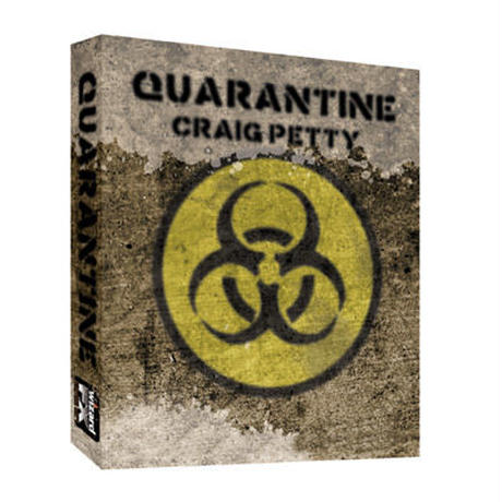 クォランティーン【M44598】【M44720】Quarantine  (Gimmick and DVD) by Craig Petty