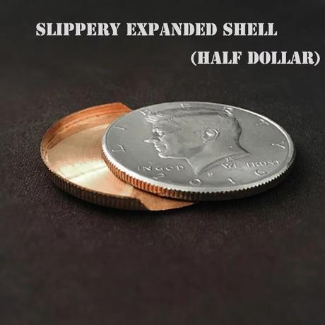 エキスパンデッド・ハーフシェル【M0838】Slippery Expanded Shell (Half Dollar)