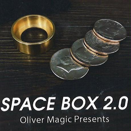 新種のコインボックス「スペースボックス2.0」【C0011】Space Box 2.0 by Oliver Magic