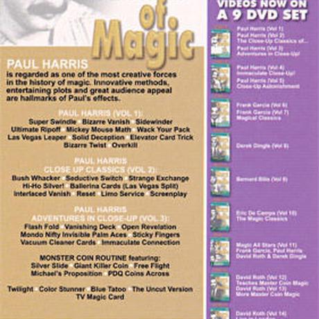 Stars Of Magic Vol 1-9 Magic Tricks Toys & Hobbies