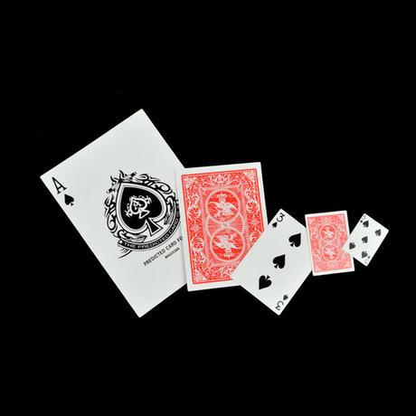 大きいのに小さいカード「サプライズカード」【G0326】Size Surprise Made in China