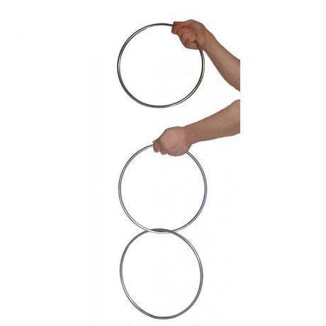 リンキングリング・30㎝サイズ(マグネットロック式)【G0132】3 Linking Rings (steel pipe) Magnetic Lock 12