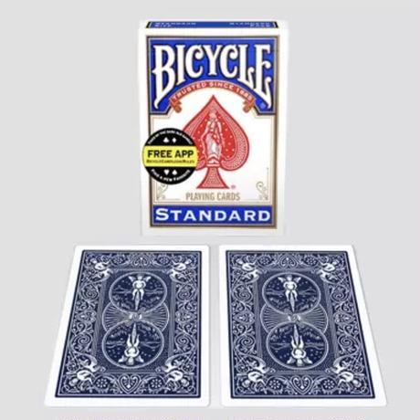 両面とも裏模様のカード「ダブル・バック・デック」Double Back Bicycle Cards