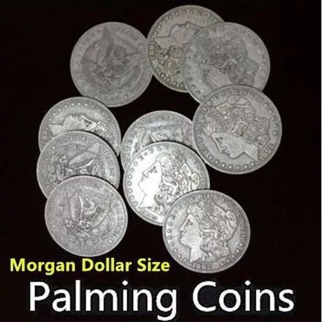 パーミングコイン(モルガン)【M0029】Palming Coins (Morgan Dollar)