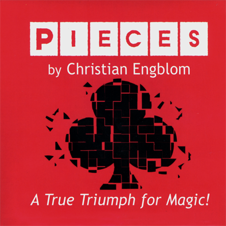 ピーシーズ【M56035】Pieces (Gimmicks and Online Video Instructions) by Christian Engblom