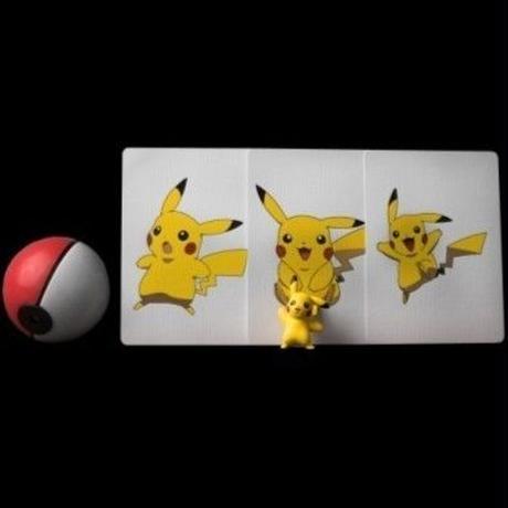 ポケモンゴーカード【H0006】I Get A Pikachu!