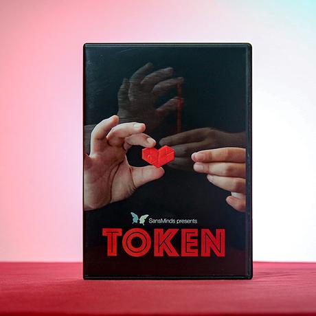 トークン<ストローがハートの形に変化>【X56988】Token (DVD and Gimmick) by SansMinds Creative Lab