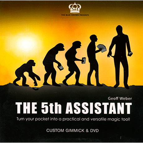 フィフス・アシスタント【M49318】5th Assistant (Gimmick and DVD) by Geoff Weber and The Blue Crown