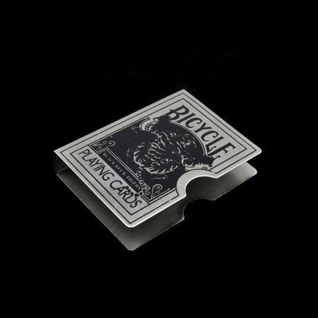 スチール・タイガー・カード・プロテクター(ブラック)【G0383】Steel Tiger Card Protector (Black)