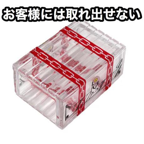 取り出せない透明な箱「トレジャーボックス」【G0452】Transparent Magic Box by king magic