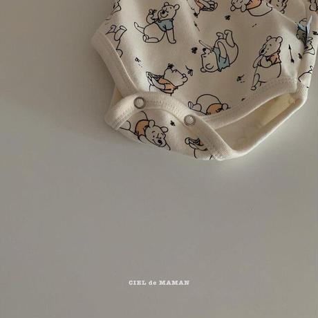 【ご予約】poohロンパースセット