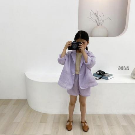 【ご予約】サマージャケット&パンツ セットアップ