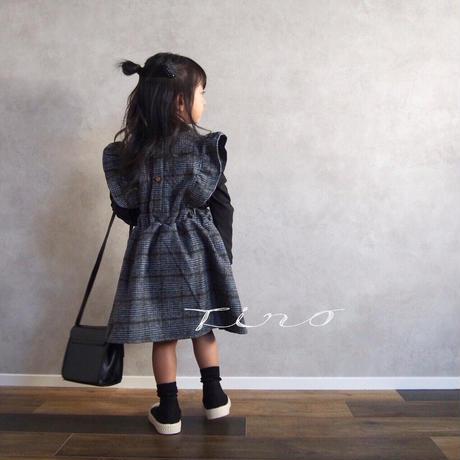 【即納】ワンピース+トップスセット