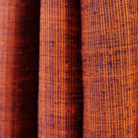 結城紬のショール 育てる網代 かさね 55634-4WCORG 絹100%  日本製