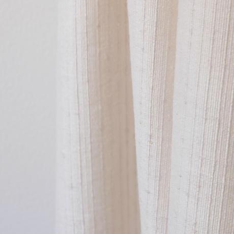 結城紬のショール 育てる色無地 なずな 55630-4PLIVY 絹100%  日本製