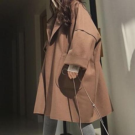 ビッグポケットオーバーコート(2色)