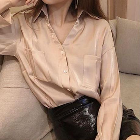 オーバーシアーシャツ(2色)