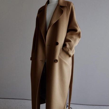 ロングチェスターコート(3色)