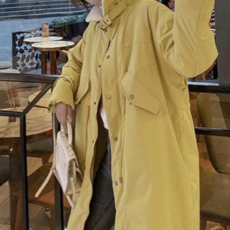 カラーモッズコート(5色)