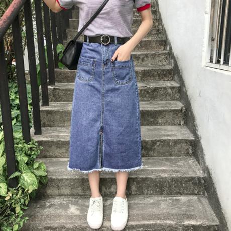 デニムスカート(2色)
