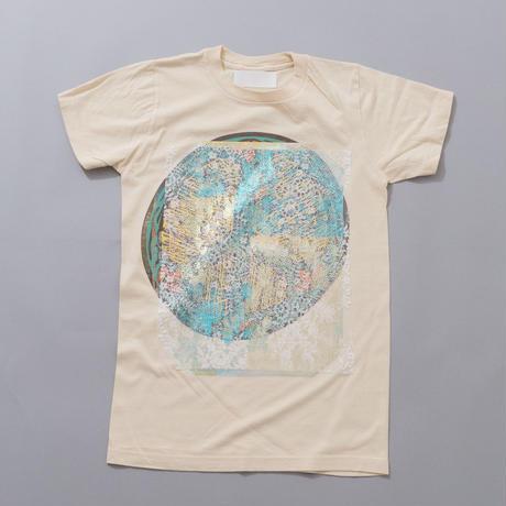 Lace T-shirts  BEIGE /001