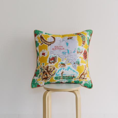 Souvenir scarf cushion /003